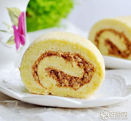 肉松蛋糕卷的做法_肉松蛋糕卷的家常做法大全怎么做好吃