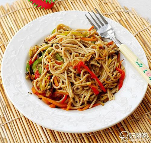 酸菜炒莜面的做法_酸菜炒莜面的家常做法大全怎么做好吃
