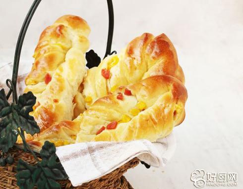 火腿玉米面包条的做法_火腿玉米面包条的家常做法大全怎么做好吃