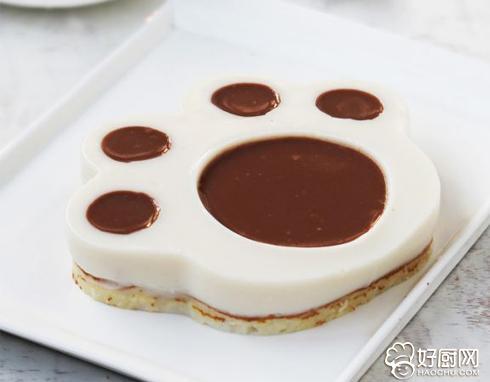 爪印慕斯蛋糕的做法_爪印慕斯蛋糕的家常做法大全怎么做好吃