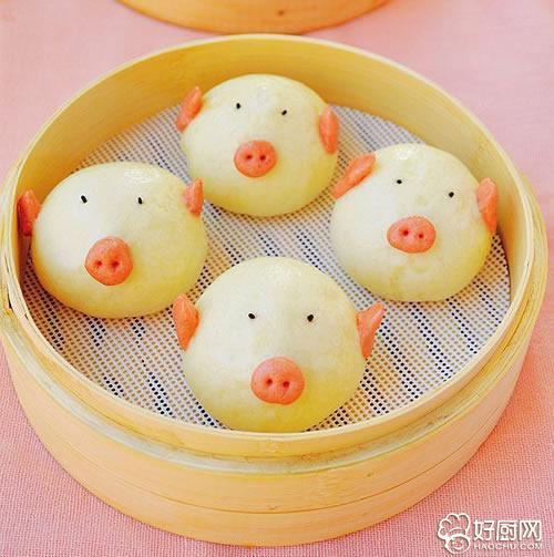 小猪馒头_小猪馒头做法大全_小猪馒头家常做法-好厨网