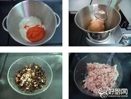 【胡萝卜包子】胡萝卜包子的做法
