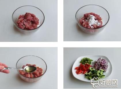 沙茶牛肉丁的做法步骤_1