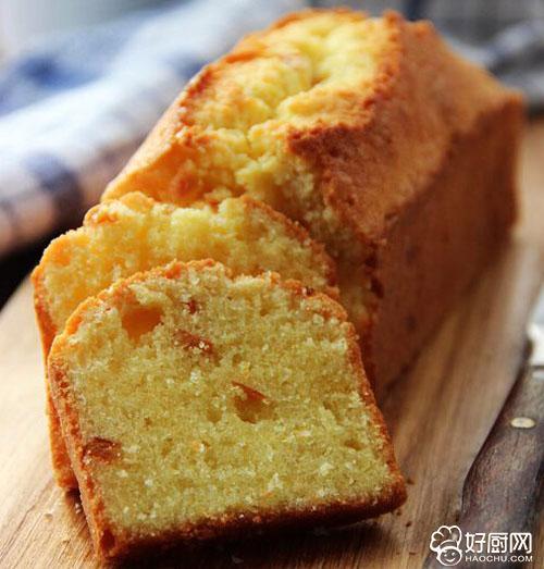 橙皮磅蛋糕的做法_橙皮磅蛋糕的家常做法大全怎么做好吃