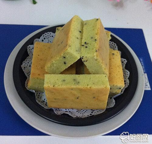黑芝麻全蛋蛋糕的做法_黑芝麻全蛋蛋糕的家常做法大全怎么做好吃