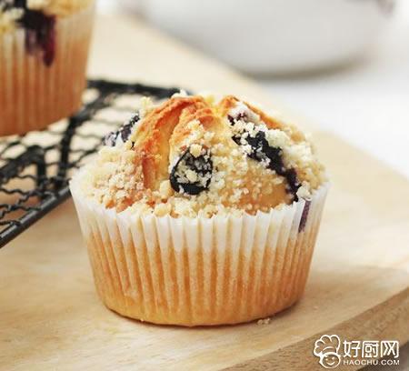 酥粒蓝莓蛋糕的做法_酥粒蓝莓蛋糕的家常做法大全怎么做好吃