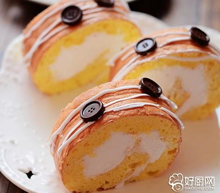 奶油蛋糕卷的做法_奶油蛋糕卷的家常做法大全怎么做好吃