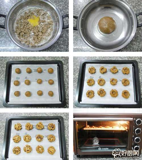 核桃酥饼的做法步骤_3