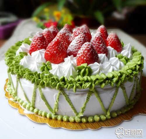 草莓奶油蛋糕的做法步骤_1
