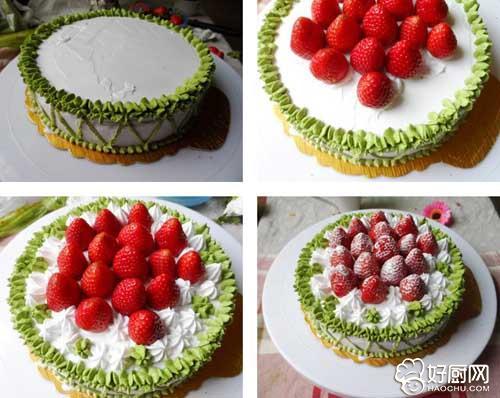 草莓奶油蛋糕的做法步骤_3