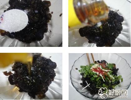 香菜拌黑木耳的做法步骤_3