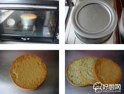 抹茶味裸蛋糕的做法步骤_4