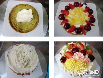 抹茶味裸蛋糕的做法步骤_5