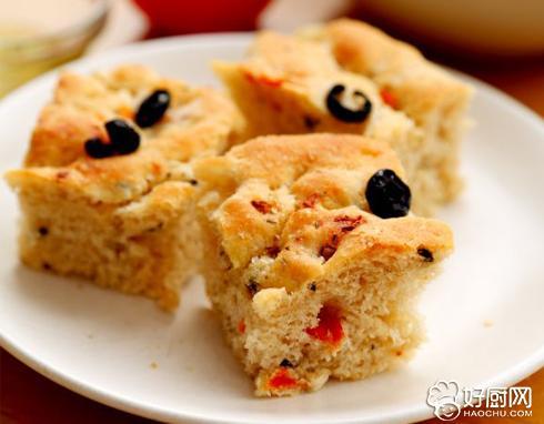 意大利香草面包佛卡夏的做法_意大利香草面包佛卡夏的家常做法大全怎么做好吃