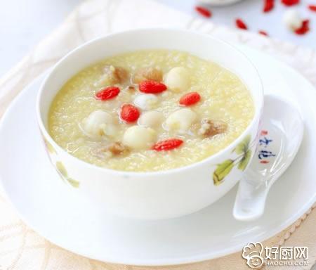 桂圆莲子小米粥的做法_桂圆莲子小米粥的家常做法大全怎么做好吃