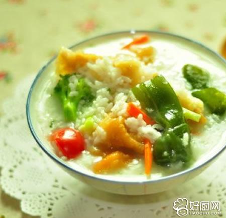 蔬菜油条粥的做法_蔬菜油条粥的家常做法大全怎么做好吃