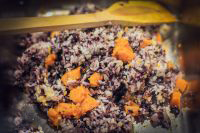 南瓜糯米饭的做法步骤_3
