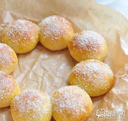 椰蓉花环面包的做法_椰蓉花环面包的家常做法大全怎么做好吃