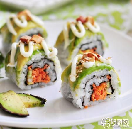 菜青虫寿司的做法_菜青虫寿司的家常做法大全怎么做好吃