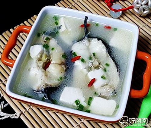 乌鱼豆腐汤