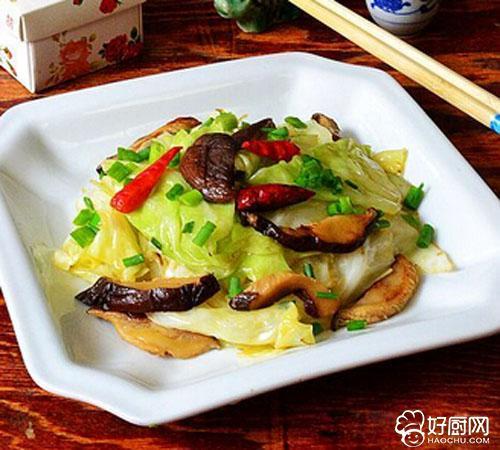 香菇手撕包菜的做法步骤_3