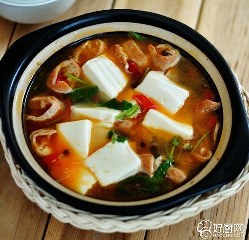 秋膘当家菜 大肠炖豆腐_1