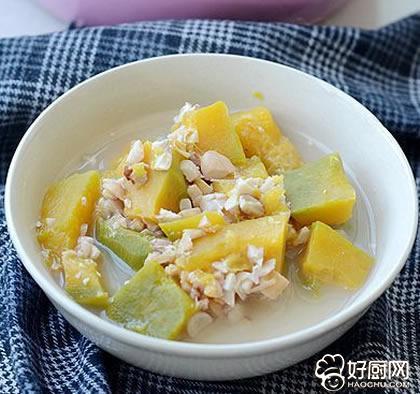 花生南瓜粥的做法_花生南瓜粥的家常做法大全怎么做好吃