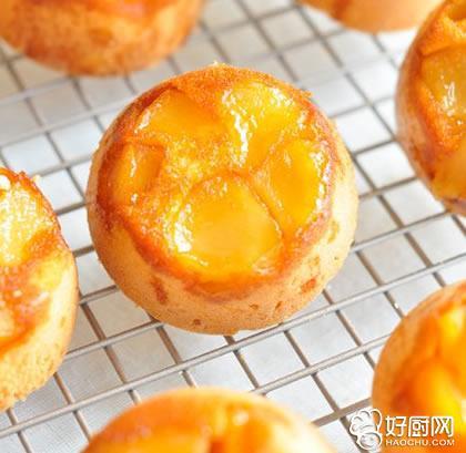 苹果翻转蛋糕的做法_苹果翻转蛋糕的家常做法大全怎么做好吃