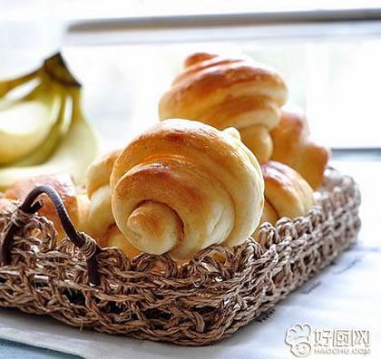 花生酱小卷面包的做法_花生酱小卷面包的家常做法大全怎么做好吃