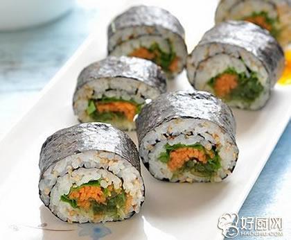海藻寿司的做法_海藻寿司的家常做法大全怎么做好吃