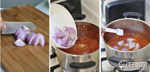 番茄牛肉汤的做法步骤_2