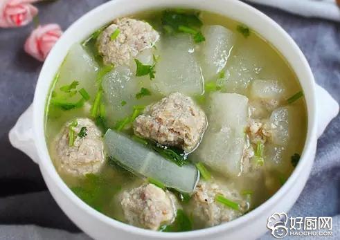 冬瓜丸子汤的做法_冬瓜丸子汤怎么做