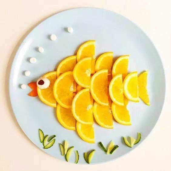 创意的水果拼盘
