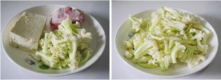 干锅花菜豆腐的做法_2