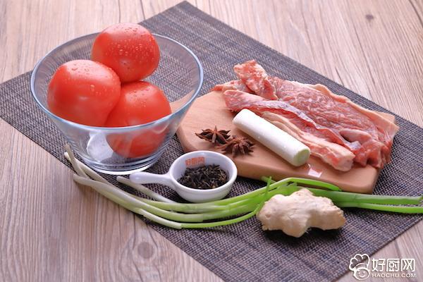 西红柿炖牛腩的做法步骤_1