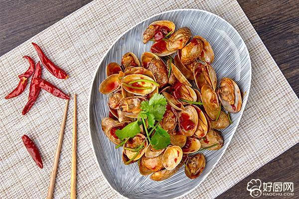 辣炒花蛤的做法步骤_7