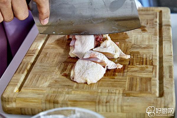 黄焖鸡的做法步骤_2