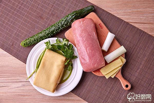 京酱肉丝的做法步骤_1