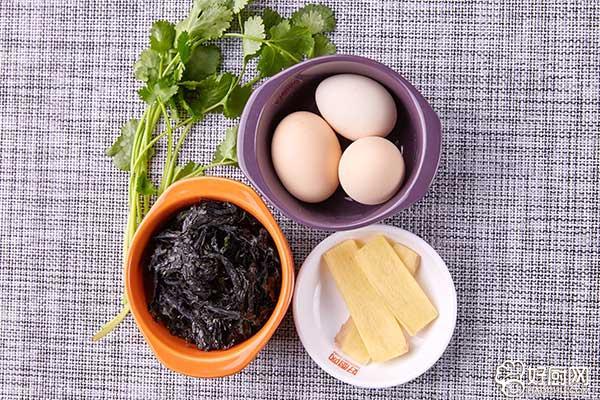 紫菜蛋花汤的做法步骤_1