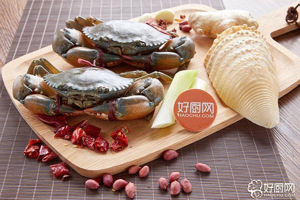 香辣蟹的做法步骤_1