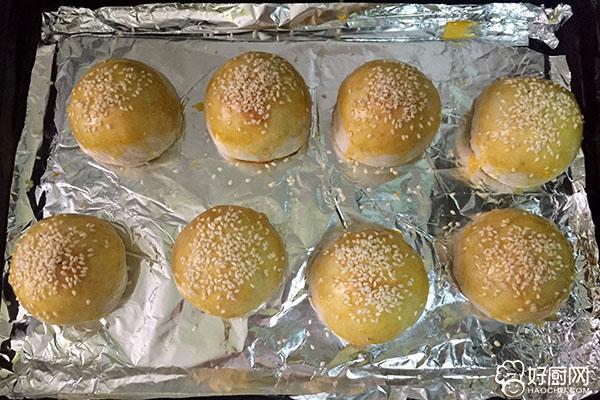 白豆沙蛋黄酥的做法步骤_22