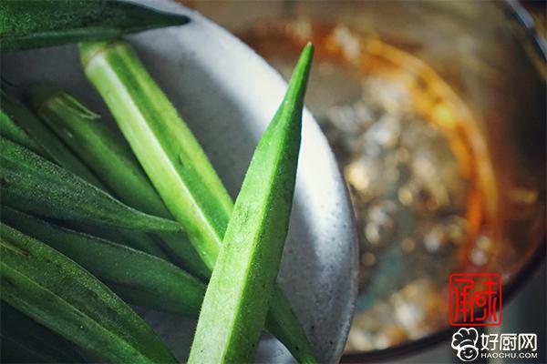 日式芥末秋葵的做法步骤_3