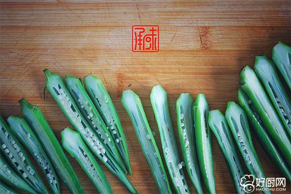 日式芥末秋葵的做法步骤_5