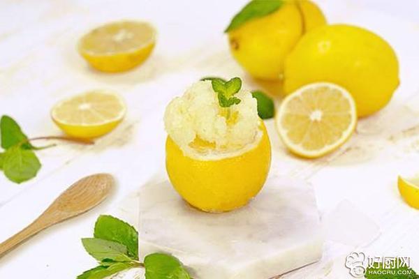 柠檬雪葩的做法步骤_6