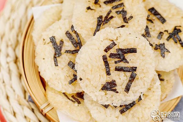 剩米饭秒变香脆仙贝的做法步骤_6