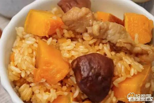 南瓜鸡肉饭的做法步骤_6