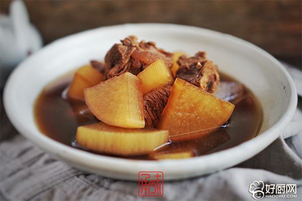 文火萝卜炖牛肉的做法步骤_11