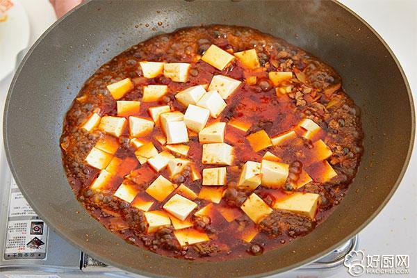 麻婆豆腐的做法步骤_9