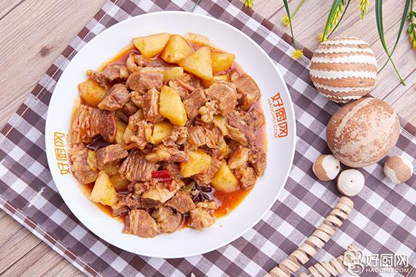 土豆烧牛肉的做法步骤_9