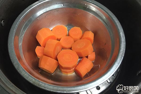橘子馒头的做法步骤_1